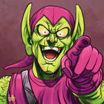 Daily Sketches Green Goblin by fedde