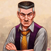 Daily Sketches J. Jonah Jameson by fedde