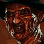 Daily Sketches Freddy Krueger by fedde