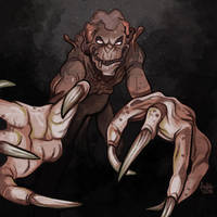 Daily Sketches Pumpkinhead by fedde