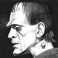 Daily Sketches Karloff's Monster by fedde