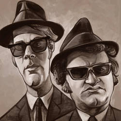 Daily Sketches The Blues Brothers by fedde
