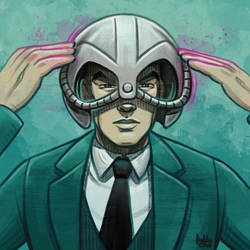 Daily Sketches Professor X by fedde
