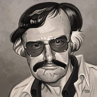 Daily Sketches Stan Lee by fedde