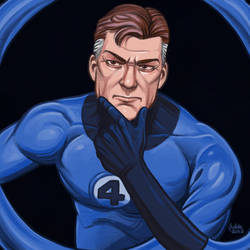 Daily Sketches Mister Fantastic by fedde
