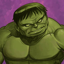 Daily Sketches The Hulk by fedde
