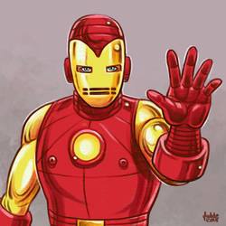 Daily Sketches Iron Man by fedde