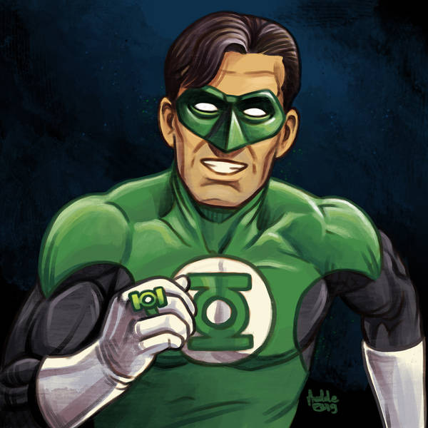 Daily Sketches Green Lantern by fedde
