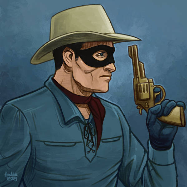 Daily Sketches The Lone Ranger by fedde