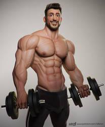 Sami, the Gym Boy by albron111