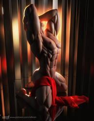 Steven BodyStretch by albron111
