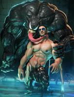 Laszlo Liraly is Venom by albron111