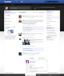 Facebook Re-Design - Sold by Andasolo