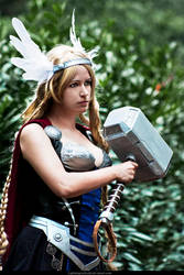Lady Thor by Ankh-Feels