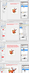Steps on How to Animate in GIMP by CandiedSnakes