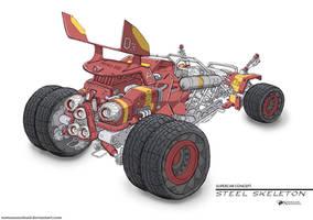 Steel Skeleton by NOMANSNODEAD