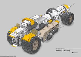 Royal Coffin by NOMANSNODEAD