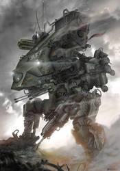 The Shock Commando by NOMANSNODEAD