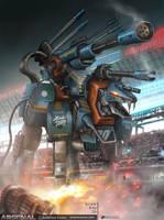 Sky Lancer by NOMANSNODEAD