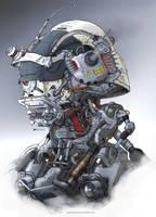 Headbot_ K60 Mad Dog by NOMANSNODEAD