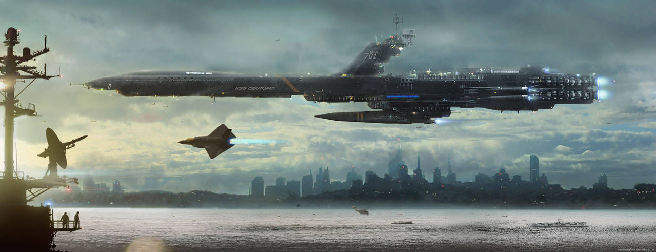 War Escort by NOMANSNODEAD