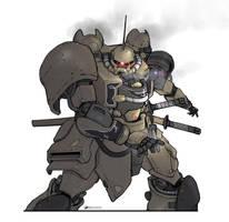 Samurai by NOMANSNODEAD