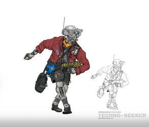 Techno Seeker by NOMANSNODEAD