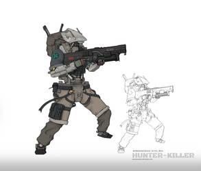 Hunter Killer by NOMANSNODEAD