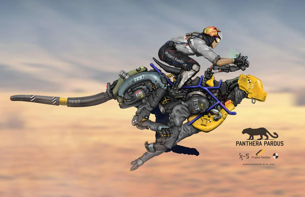 Adrenaline Jockey by NOMANSNODEAD
