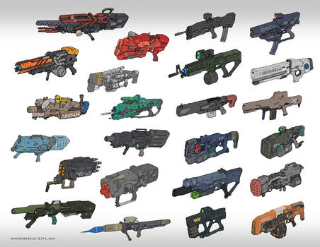 Guns you don't need but want it so bad by NOMANSNODEAD