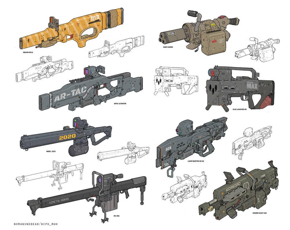 Fun Guns by NOMANSNODEAD