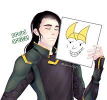 Loki Proud Artist by TheDanielHD