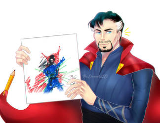 Dr Strange Proud Artist by TheDanielHD