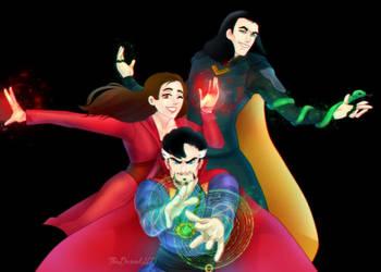 Magic Trio by TheDanielHD