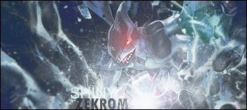 Shiny Zekrom by StarkSCII