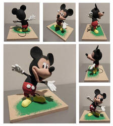 Micky Mouse by imanopolo
