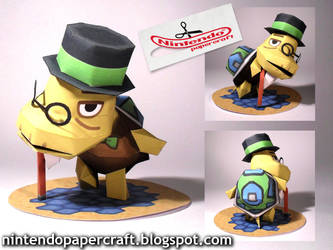Tortimer Papercraft by squeezycheesecake