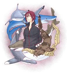 Sharks! by blueorca2