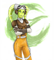 Star Wars Rebels: The Pilot by blueorca2
