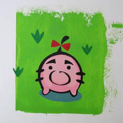 Little Mr - Mr Saturn Print by arcade-art