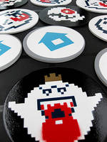 Video Game Coasters by arcade-art