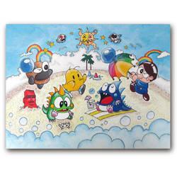 Taito Beach - A Golden Age of Cuteness by arcade-art