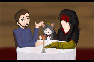 Dinner For Tw--Three by XindaNobody