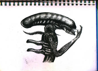 Giger's Alien by AmiableSnowman