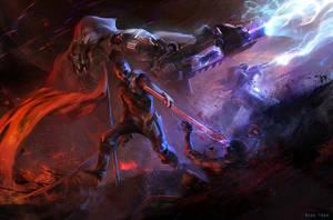 Blitzkrieg by rossdraws