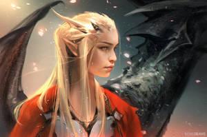 Daenerys Targaryen: YOUTUBE! by rossdraws