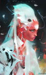 Nima in White by rossdraws