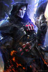 Reaper Overwatch + Video!! by rossdraws