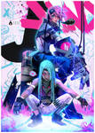 Jinx and Vi! : YouTube by rossdraws