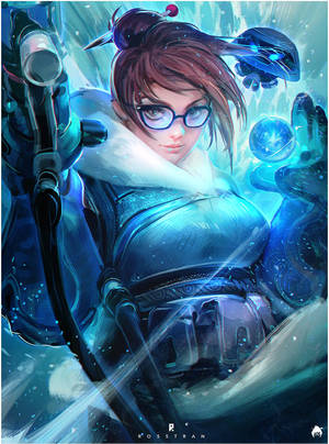 Mei : YouTube! by rossdraws